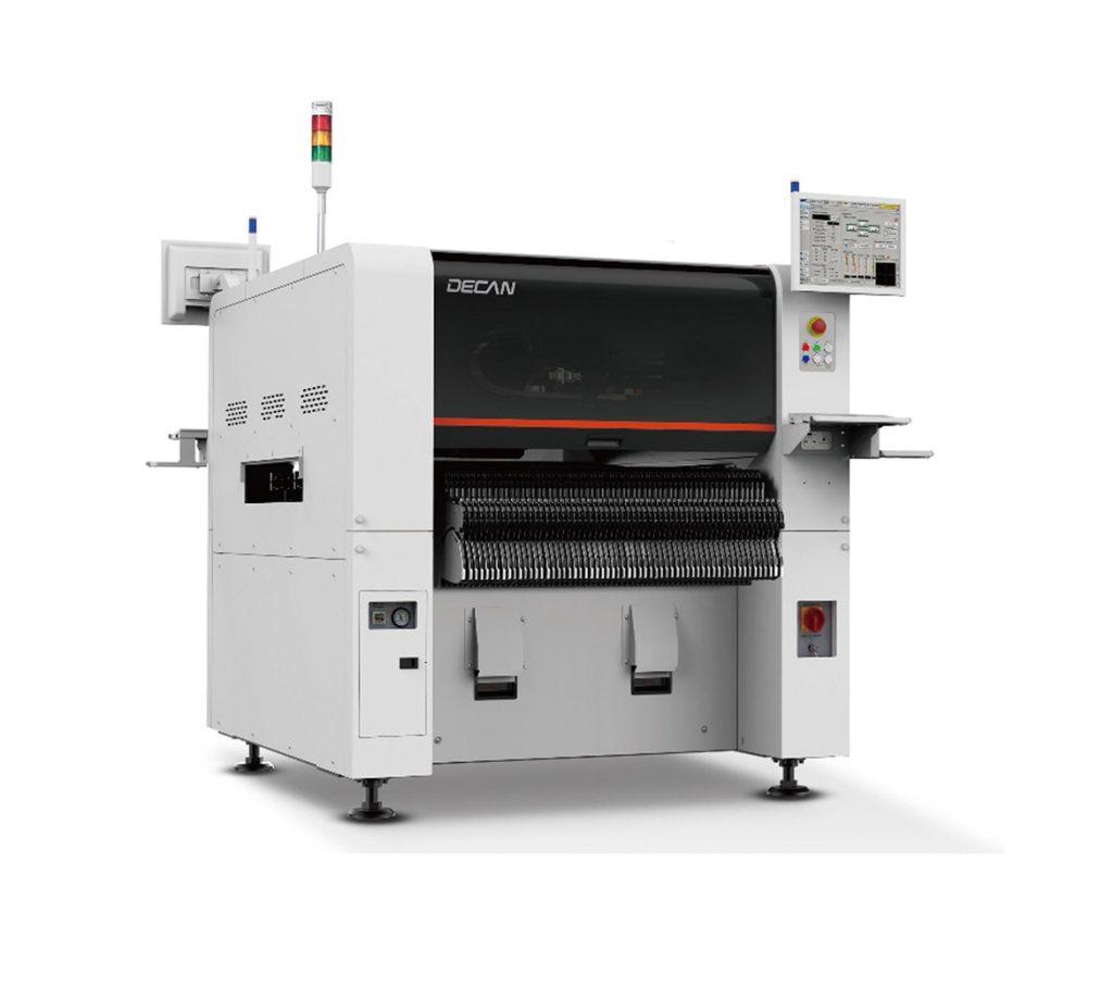 Современный  гибкий автомат поверхностного монтажа Hanwha Techwin DECАN F2